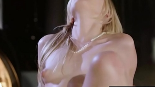 Beautiful blonde Alexa Grace riding cock