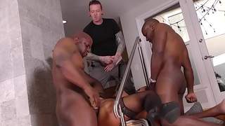Squirting Mom Raven Hart Does Anal With Mandingo And Prince Yahshua