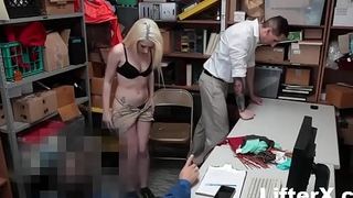 TEEN THIEF FUCKED WHILE Pa WATCHES- LifterX.com