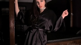 Goddess Alexandra Snow - Striptease JOI Edging Game - Part 1 - Part 2 at hotporntubesxxx.com