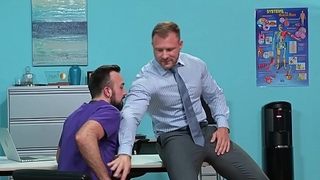 Muscle Hunk Daddy Alloy Austin Wolf Rough Fucks Hairy Employee