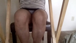 Back 2 School upskirt view on first in english class