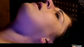 captive girl tormented by droplets on vagina