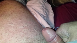 Bigj412 jerking a load out after edging for wantonness an hour