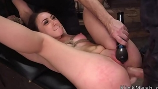 Anal make the beast with two backs training for big ass slave