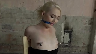 Eurobabe gambol and gagged by maledom